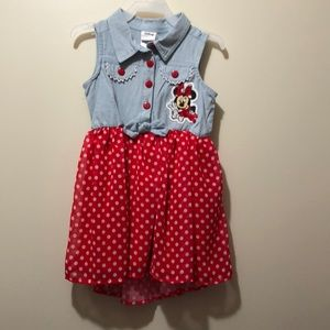 Disney Minnie Mouse Sun Dress